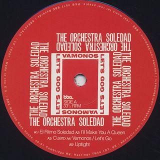 Orchestra Soledad / Vamonos Let's Go label