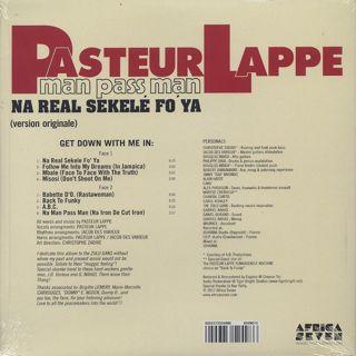 Pasteur Lappe / Na Man Pass Man back