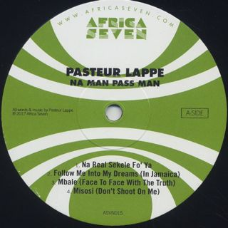 Pasteur Lappe / Na Man Pass Man label
