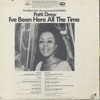 Patti Drew / I've Been Here All The Time back