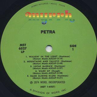 Petra / S.T. label