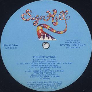 Philippe Wynne / S.T. label