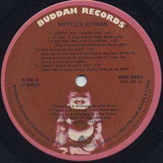 Phyllis Hyman / S.T. label