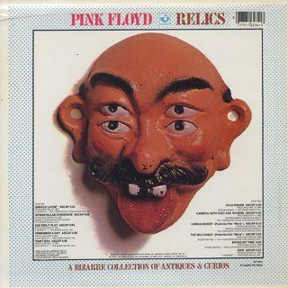 Pink Floyd / Relics back