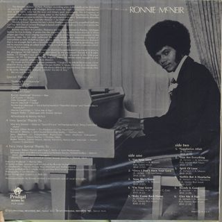 Ronnie McNeir / S.T. back