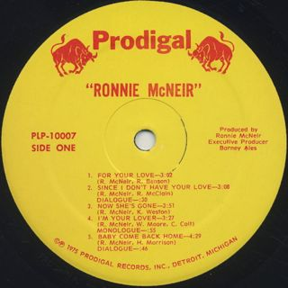 Ronnie McNeir / S.T. label