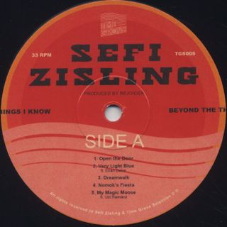 Sefi Zisling / Beyond The Thing I Know label