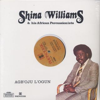 Shina Williams & His African Percussionists / Agb'oju L'ogun front