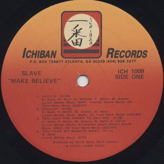 Slave / Make Believe label