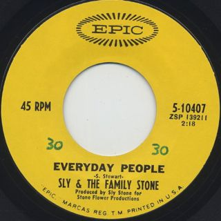Sly And Family Stone / Everyday People (7