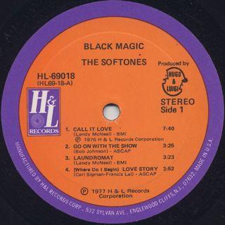 Softones / Black Magic label