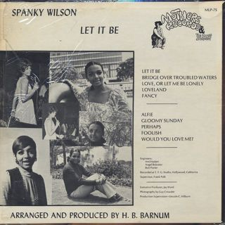 Spanky Wilson / Let It Be back