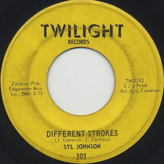 Syl Johnson / Different Stroke