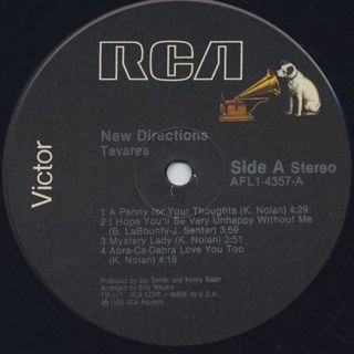 Tavares / New Directions label