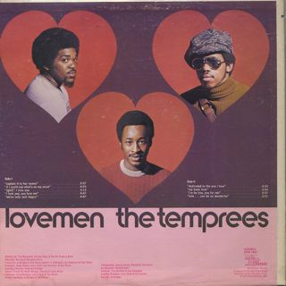 Temprees / Lovemen back