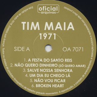 Tim Maia / 1971 label