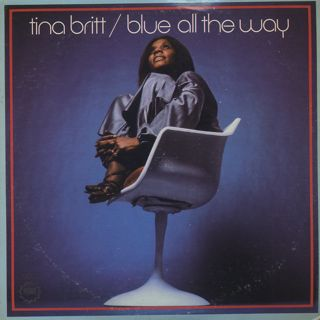 Tina Britt / Blue All The Way front