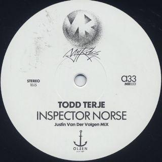 Todd Terje / Inspector Norse c/w Strandbar (Justin Van Der Volgen Remixes)
