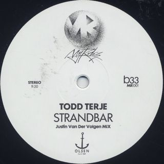 Todd Terje / Inspector Norse c/w Strandbar (Justin Van Der Volgen Remixes) back
