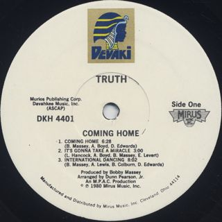 Truth / Coming Home label