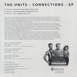 Units / Connections EP back