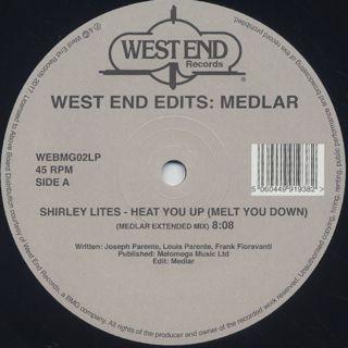 V.A. / West End Edits: Medlar back