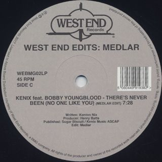 V.A. / West End Edits: Medlar label