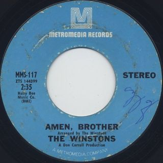 Winstons / Amen, Brother