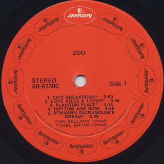 Zoo / S.T. label