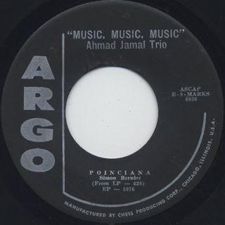 Ahmad Jamal / Music, Music, Music(7
