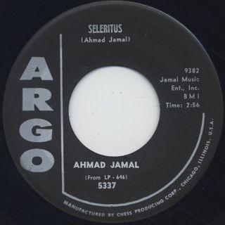 Ahmad Jamal / Seleritus c/w Tangerine