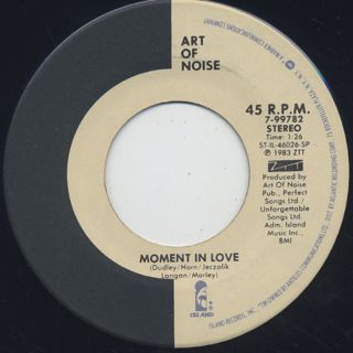 Art Of Noise / Beat Box back