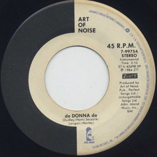 Art Of Noise / Close (to the Edit) back