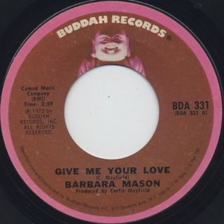 Barbara Mason / Give Me Your Love (45) front