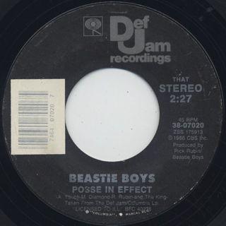 Beastie Boys / Posse In Effect c/w Brass Monkey