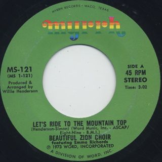 Beautiful Zion Choir / Let's Ride To The Mountain Top