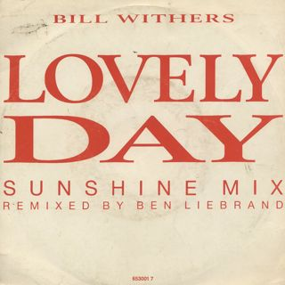 Bill Withers / Lovely Day(Sunshine Mix) front