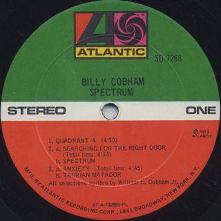 Billy Cobham / Spectrum label
