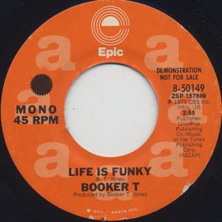 Booker T / Life Is Funky back