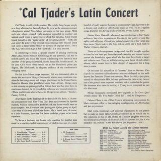 Cal Tjader / Cal Tjader's Latin Concert back