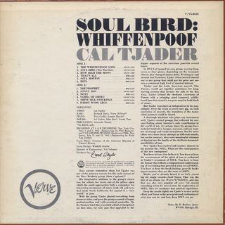 Cal Tjader / Soul Bird: Whiffenpoof back