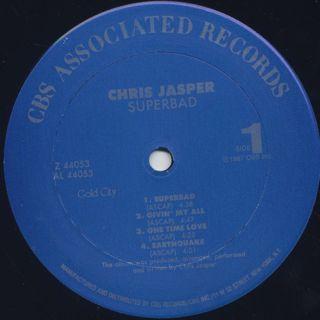 Chris Jasper / Superbad label