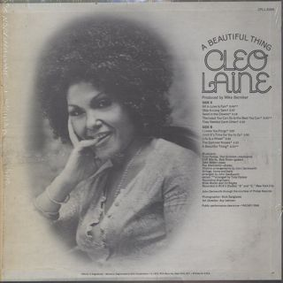 Cleo Laine / A Beautiful Thing back
