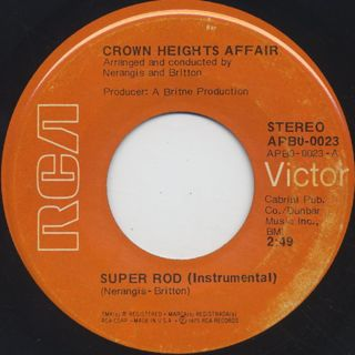 Crown Heights Affair / Super Rod back