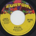 Curtis Mayfield / So In Love c/w Hard Times-1