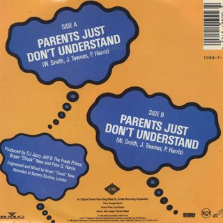 D.J. Jazzy Jeff & The Fresh Prince / Parents Just Don't Understand back