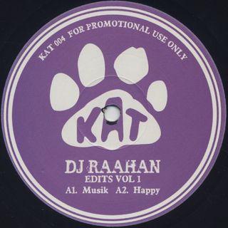 DJ Raahan / Edits Vol 1