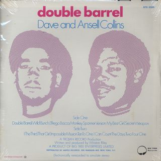 Dave and Ansell Collins / Double Barrel back