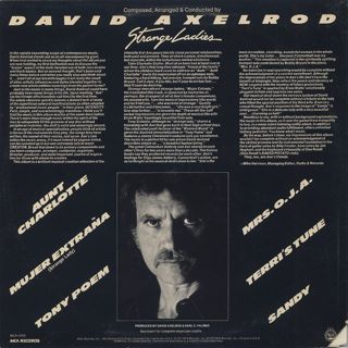 David Axelrod / Strange Ladies back