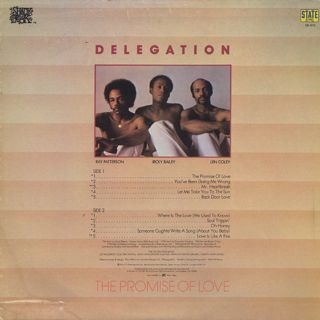 Delegation / The Promise Of Love back